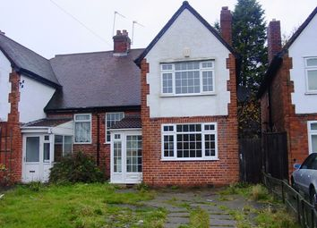 Thumbnail 3 bed semi-detached house to rent in Oxhill Road, Handsworth