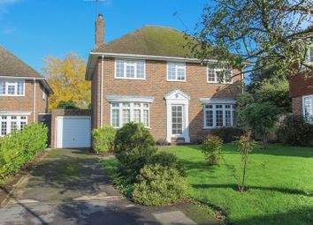 Thumbnail 4 bed detached house to rent in Woodlands Close, Claygate, Esher