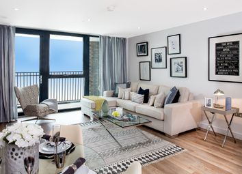 Thumbnail 1 bed flat for sale in 118-128 Christchurch Road, Colliers Wood, London