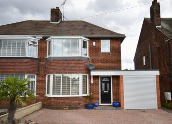 Thumbnail 4 bed semi-detached house for sale in Hucknall Avenue, Ashgate, Chesterfield