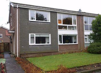 Thumbnail 2 bed flat for sale in Gresham Close, Cramlington