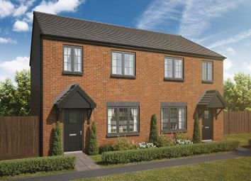 Thumbnail 3 bed semi-detached house for sale in Havannah Park, Coach Lane, Hazlerigg, Northumberland