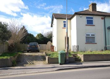Thumbnail 2 bed semi-detached house to rent in Ship Lane, Aveley, South Ockendon