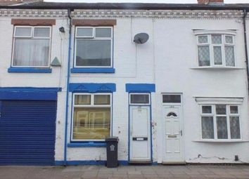 Thumbnail 3 bedroom terraced house to rent in Lancaster Street, Leicester