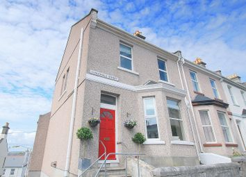 Thumbnail 3 bed end terrace house for sale in Dundonald Street, Stoke, Plymouth