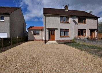 Thumbnail 3 bedroom semi-detached house for sale in 19 Bruce Street, Alloa, 1Rx, UK
