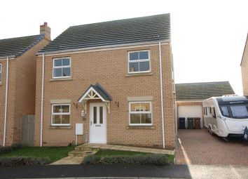 Thumbnail 4 bed detached house for sale in Roman Gardens, Whittlesey, Peterborough