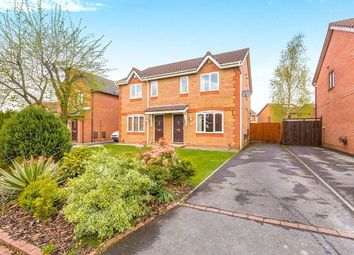 Thumbnail 3 bed semi-detached house for sale in Lowesby Close, Walton-Le-Dale, Preston