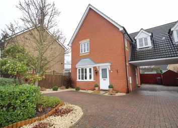 Thumbnail 3 bedroom link-detached house for sale in Marbled White Drive, Ipswich