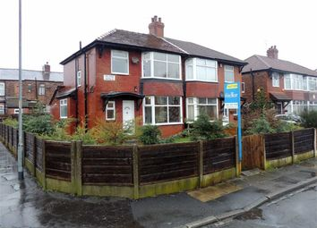 Thumbnail 3 bedroom semi-detached house for sale in Delside Avenue, Moston, Manchester