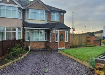 Thumbnail 3 bed semi-detached house for sale in Quinton Road, Cheylesmore, Coventry