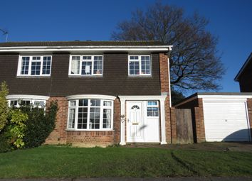 Thumbnail 3 bed semi-detached house for sale in Holbein Way, Lowestoft