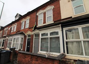 Thumbnail 7 bed terraced house for sale in Heeley Road, Birmingham