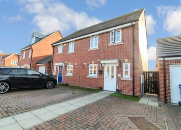 Thumbnail 3 bed semi-detached house for sale in Dune Walk, Blyth