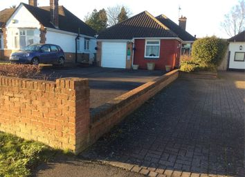 Thumbnail 3 bed detached bungalow for sale in Leighton Road, Toddington, Dunstable, Bedfordshire