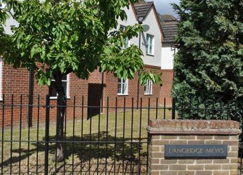 Thumbnail 1 bed flat to rent in Langridge Mews, Hampton