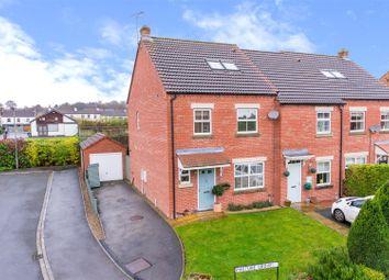 Thumbnail 4 bed town house for sale in Pasture View, Sherburn In Elmet, Leeds