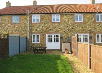 Thumbnail 3 bed end terrace house to rent in Wereham, King's Lynn