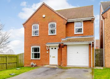 Thumbnail 4 bed detached house for sale in Charlton Close, Billingham, County Durham