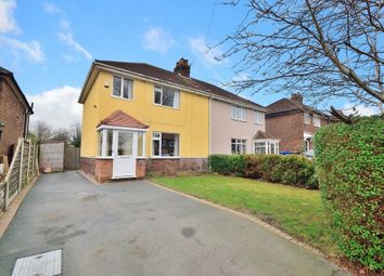 Thumbnail 3 bedroom semi-detached house for sale in Georges Crescent, Grappenhall, Warrington