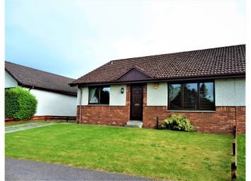 Thumbnail 3 bed semi-detached bungalow for sale in Cradlehall Gardens, Inverness
