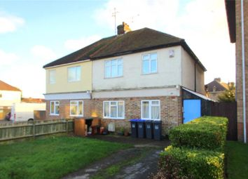 Thumbnail 4 bed semi-detached house for sale in Crabtree Lane, Lancing, West Sussex
