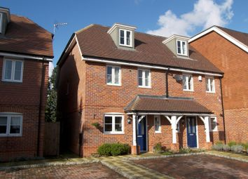 Thumbnail 4 bed semi-detached house to rent in Foxhollow Close, Walton On Thames, Surrey