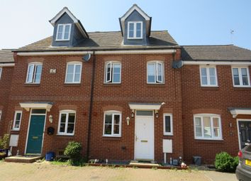 Thumbnail 3 bed terraced house for sale in The Meadows, Old Stratford, Milton Keynes