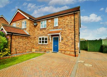 Thumbnail 3 bed semi-detached house for sale in Worsley Paddock, Ulceby, North Lincolnshire