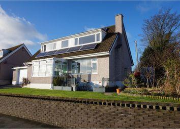 Thumbnail 4 bed detached house for sale in Maes Awel, Llandegfan, Menai Bridge