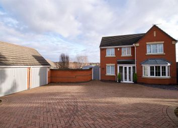 Thumbnail 4 bed detached house for sale in Morley Close, Stapenhill, Burton-On-Trent
