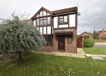 Thumbnail 3 bed detached house for sale in Lyndley Chase, Bishops Cleeve, Cheltenham