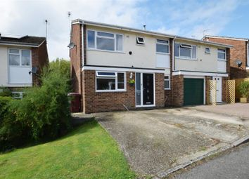 Thumbnail 3 bed property for sale in Holyrood Close, Caversham, Reading