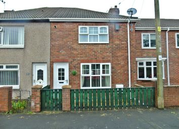 Thumbnail 2 bed terraced house for sale in Dunelm Road, Thornley, Durham