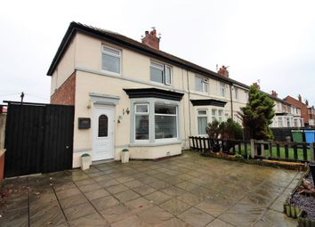Thumbnail 3 bed end terrace house for sale in Westfield Avenue, Fleetwood, Lancashire
