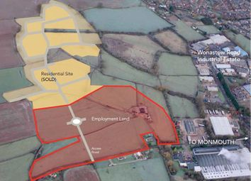 Thumbnail Commercial property for sale in Land At Wonastow Road, Wonastow Road, Monmouth