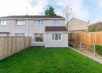Thumbnail 3 bed semi-detached house for sale in Medway Road, Bettws, Newport.