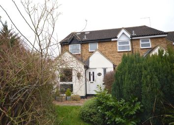 Thumbnail 4 bed semi-detached house for sale in The Hedgerows, Stevenage