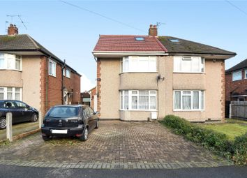 Thumbnail 5 bedroom semi-detached house for sale in Warley Avenue, Hayes, Middlesex