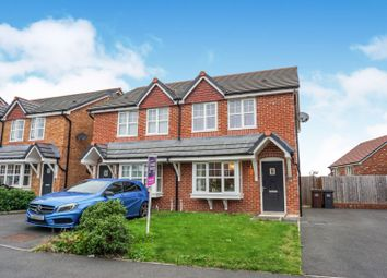 3 bed semi-detached house for sale in Aldwyn Court, Penwortham, Preston PR1