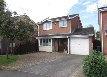 Thumbnail 3 bed detached house for sale in Herrick Close, Enderby, Leicester