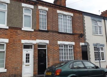 Thumbnail 3 bed terraced house for sale in Cartwright Street, Loughborough, Leicestershire