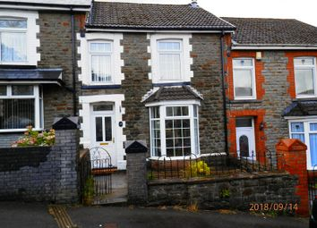 Thumbnail 3 bed terraced house for sale in Dunraven Terrace, Treorchy, Rhondda Cynon Taff.