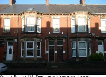 Thumbnail 3 bedroom flat to rent in Simonside Terrace, Newcastle Upon Tyne