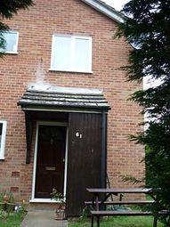 Thumbnail 1 bedroom semi-detached house to rent in Mallard Way, Great Cornard, Sudbury