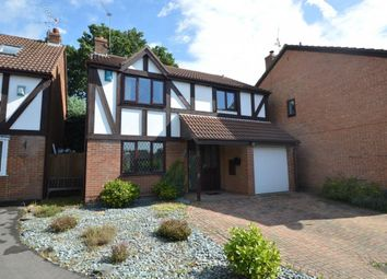 Thumbnail 4 bedroom detached house for sale in Somerville Close, Wokingham