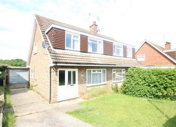 Thumbnail 3 bed semi-detached house for sale in Burden Way, Guildford, Surrey
