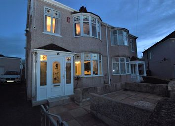 3 bed semi-detached house for sale in Ayreville Road, Plymouth, Devon PL2