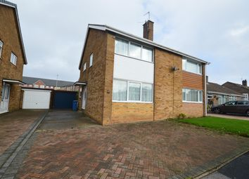 Thumbnail 3 bed semi-detached house for sale in Overdale, Eastfield, Scarborough