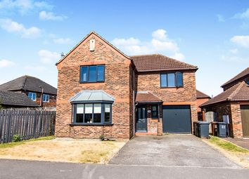 Thumbnail 4 bed detached house to rent in Rivermead, Lincoln